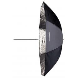 Stříbrný 105 cm deštník PRO