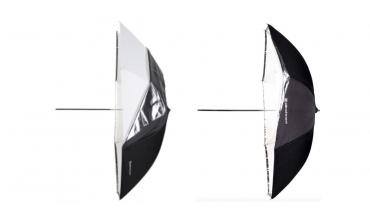 """Nové a vylepšené: Elinchrom hluboké deštníky a deštníky """"2v1"""""""