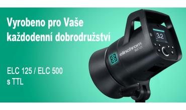 Nové záblesky TTL ELC 125 / 500