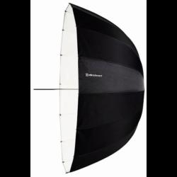 Hluboký Bílý 125 cm deštník
