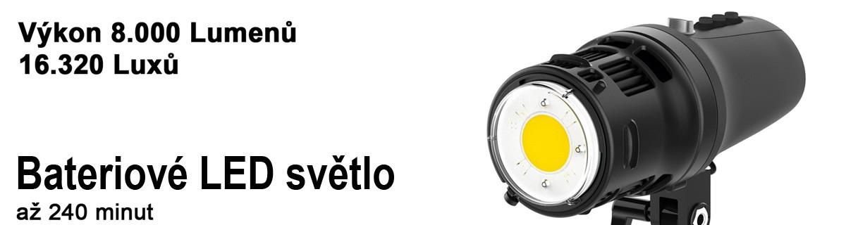 LED stálé světlo pro foto i video